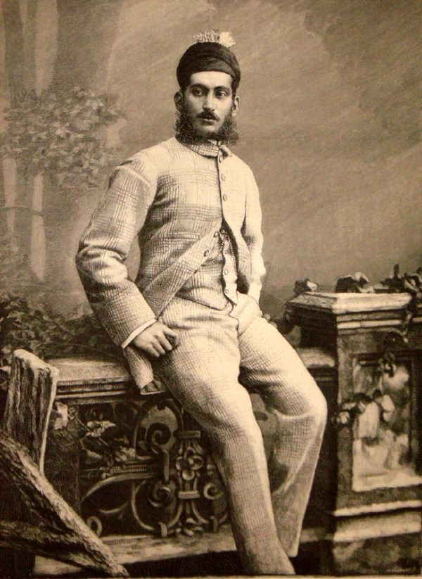 ಹಯ್ದರಾಬಾದಿನ ನಿಜಾಮರು, ಇಲಸ್ಟ್ರೇಟೆಡ್ ಲಂಡನ್ ನ್ಯೂಸ್, 1889