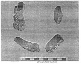 ಗುಲ್ಬರ್ಗದಲ್ಲಿ ದೊರಕಿದ ಕೆಲವು ಬಳಸಿದ ಕೋವೆಗಳು (ಕ್ರುಪೆ: ಸಿ. ಎಸ್. ಸ್ಮಿತ್)