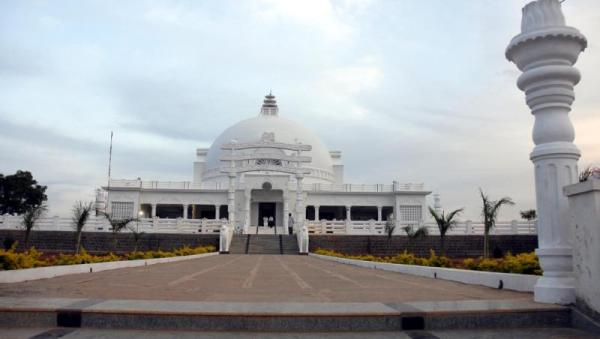 Front View of Buddha Vihar
